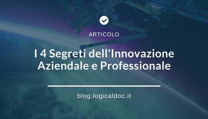 4 segreti innovazione